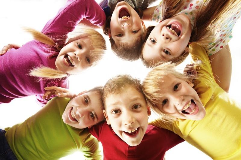 Dzieci na zielonej szkole