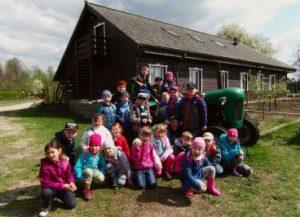 Wycieczka na wieś, przedszkolaki