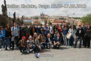 Zagraniczna wycieczka szkolna Kłodzko i Praga, widok na Hradczany