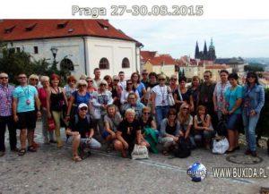 Zagraniczna wycieczka szkolna do Pragi, widok z Hradczan, BUXIDA