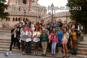 Zagraniczna wycieczka szkolna do Budapesztu, widok na kościół Macieja, BUXIDA