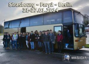 Zagraniczna wycieczka szkolna do Strasbourga