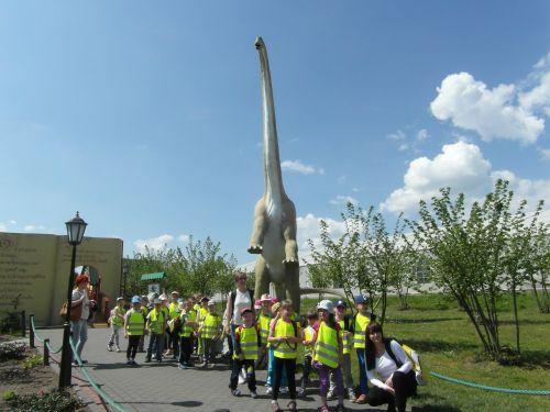 Wycieczka do Dinoparku, Kołacinek, przedszkolaki