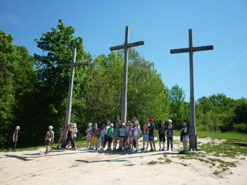 Wycieczka szkolna kazimierz dolny, góra 3 krzyży