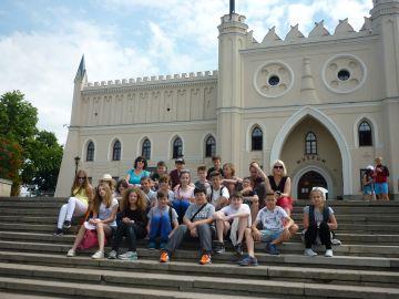 Wycieczka szkolna do Lublina, zamek