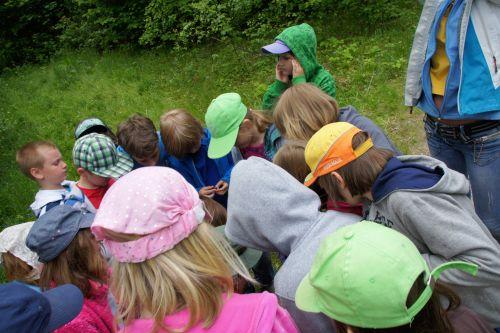 Zielona szkoła Mazury, dzieci, gra terenowa