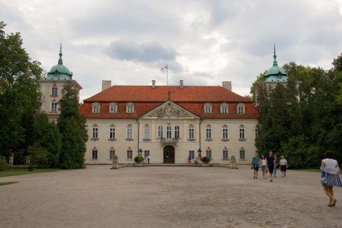 Wycieczka Pan Kleks, zamek w Nieborowie