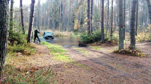 Wycieczka integracyjna, off road, samochody terenowe