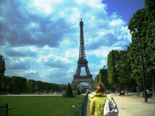 Wycieczka szkolna do Paryża, Wieża Eiffela