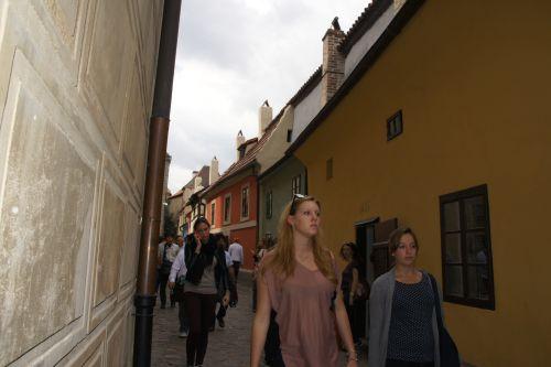 Wycieczka szkolna Praga, Złota Uliczka na Hradczanach