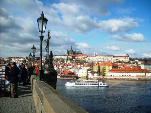 Wycieczka do Pragi, Hradczany, Most Karola