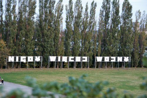 Westerplatte Nigdy więcej wojny