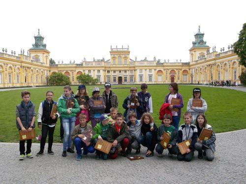 Wycieczka szkolna do Warszawy, Pałac w Wilanowie