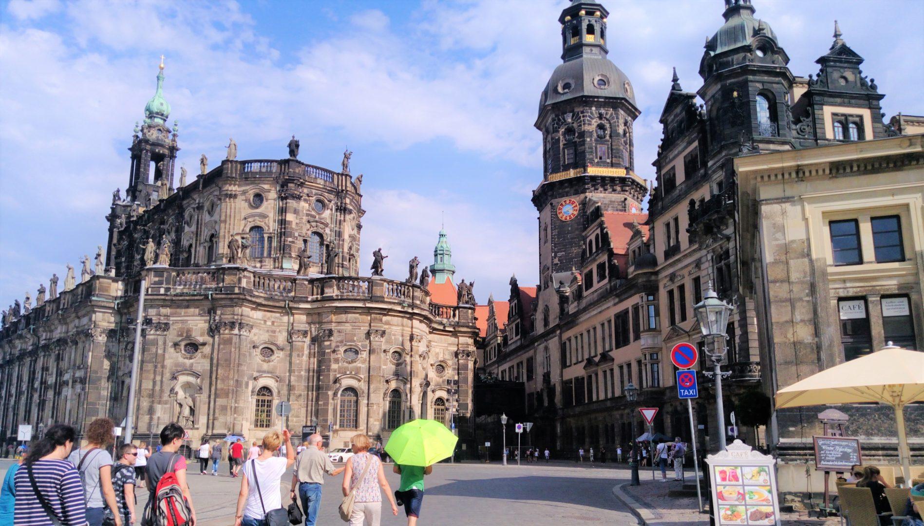 stare miasto Drezno
