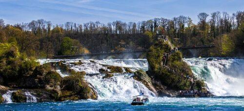 BUXIDA, Wycieczki dla szkół i firm,Wodospady nad Renem