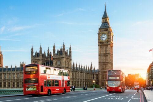 BUXIDA, Wycieczki dla szkół i firm,Londyn, Big Ben, czerwony autobus piętrowy