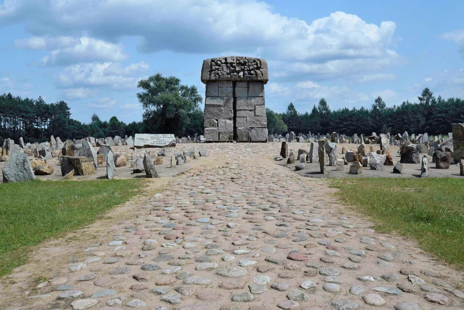 Były obóz pracy w Treblince