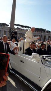 Audiencja Generalna u Papieża Franciszka