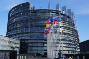 Parlament Europejski w Strasbourgu