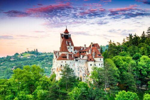Zamek w Branie Rumunia