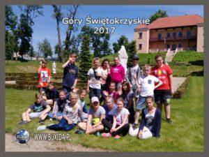 wycieczka szkolna w Góry Świtokrzyskie BUXIDA 2017