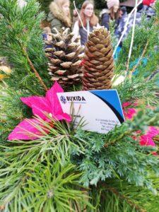 Stroik świąteczny, warsztaty na wycieczce szkolnej